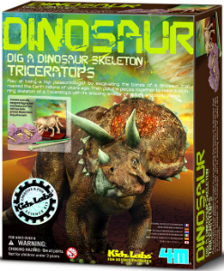 Dinosaurier Ausgrabung Triceratops