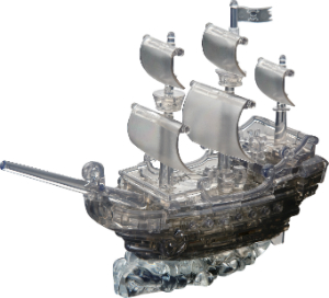 Crystal Puzzle Piratenschiff