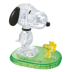 Crystal Puzzle Snoopy Woodstock