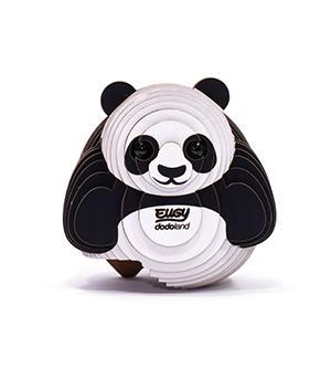 Dodoland Puzzle Eugy Panda Pandabaer