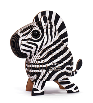 Dodoland Puzzle Eugy Zebra