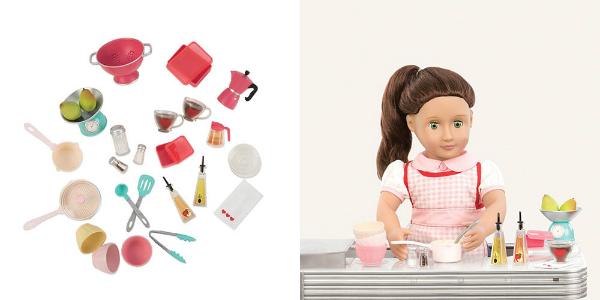 Our Generation Küchen Accessoires Set