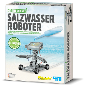 Green Science Salzwasser Roboter