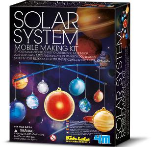 Leuchtendes Sonnensystem Bastelset Solar System Mobile Making Kit