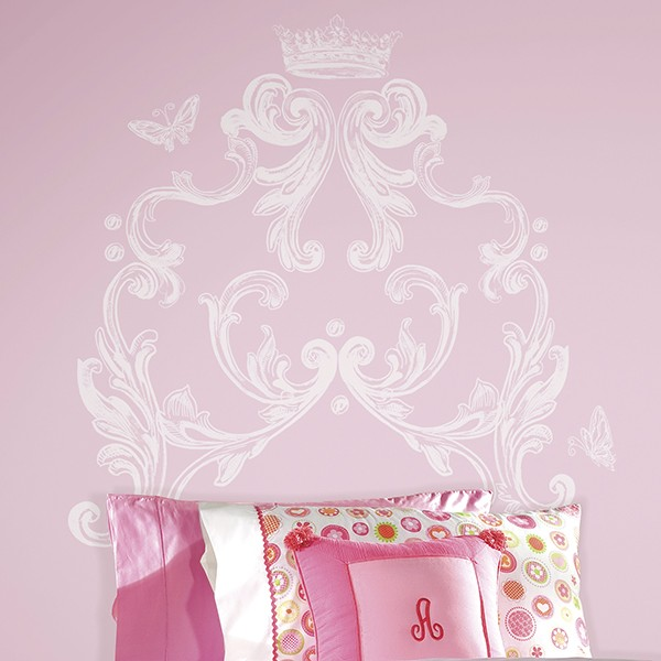 Wandtattoo Wandsticker Wandaufkleber Wandbilde Schmetterlinge Pink RoomMates